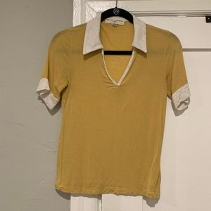 Urban Outfitters Yellow Polo Shirt